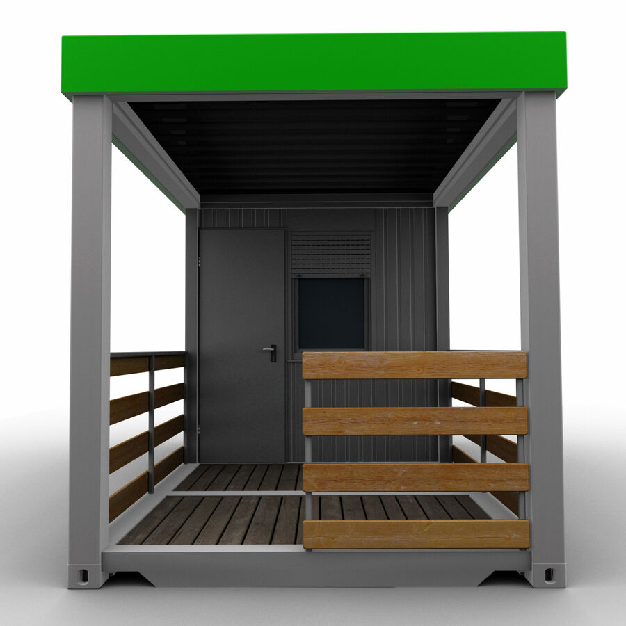 Collezione Mega Container royalty-free 3d model - Preview no. 86