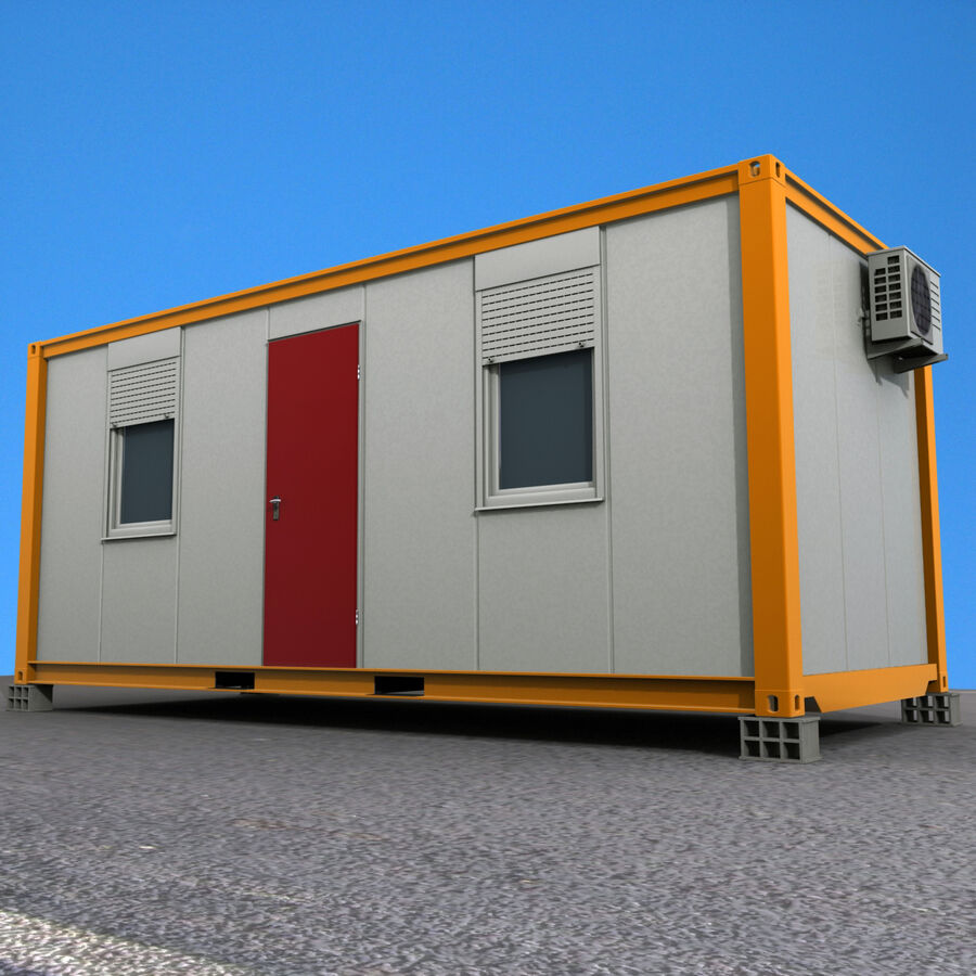 Collezione Mega Container royalty-free 3d model - Preview no. 78