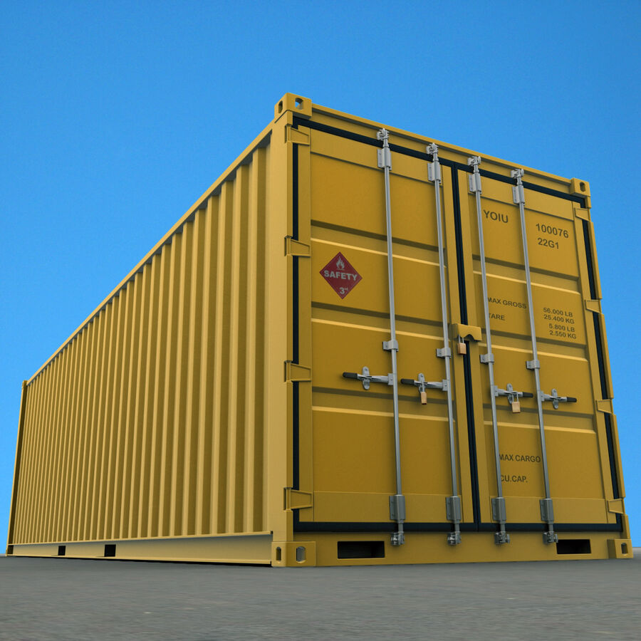 Collezione Mega Container royalty-free 3d model - Preview no. 21