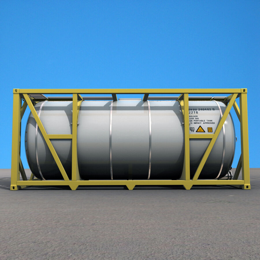 Collezione Mega Container royalty-free 3d model - Preview no. 35