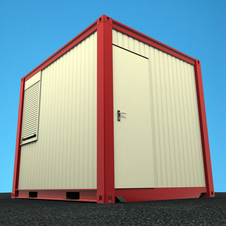 Collezione Mega Container royalty-free 3d model - Preview no. 73