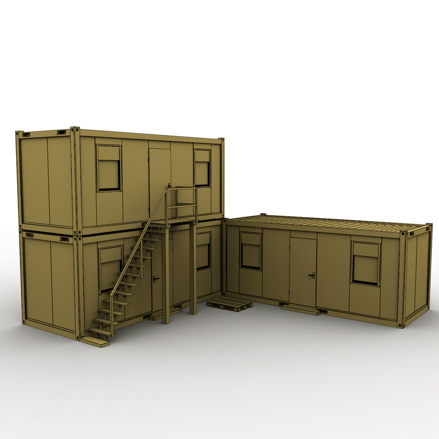 Collezione Mega Container royalty-free 3d model - Preview no. 99