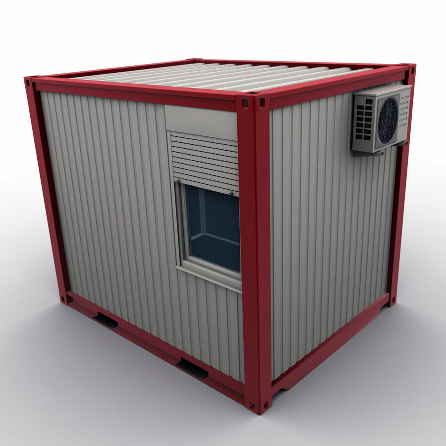 Collezione Mega Container royalty-free 3d model - Preview no. 70