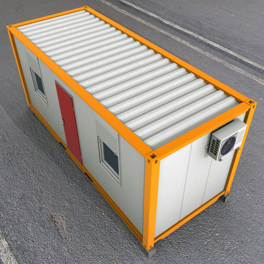 Collezione Mega Container royalty-free 3d model - Preview no. 77