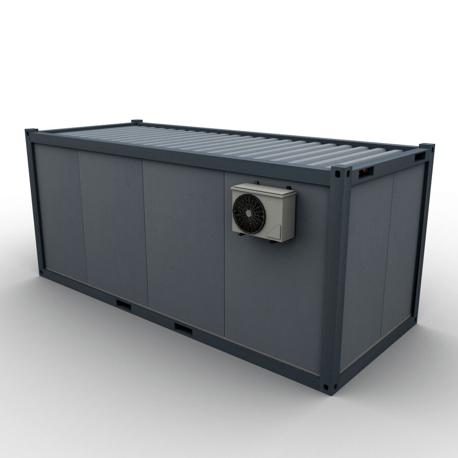 Collezione Mega Container royalty-free 3d model - Preview no. 96