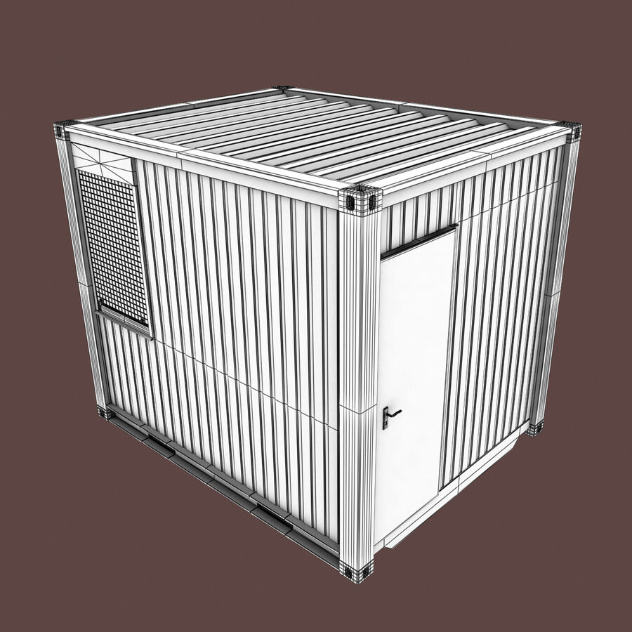 Collezione Mega Container royalty-free 3d model - Preview no. 75