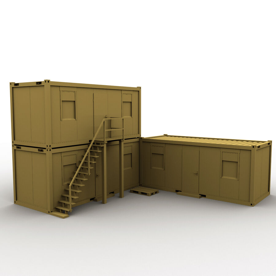 Collezione Mega Container royalty-free 3d model - Preview no. 98