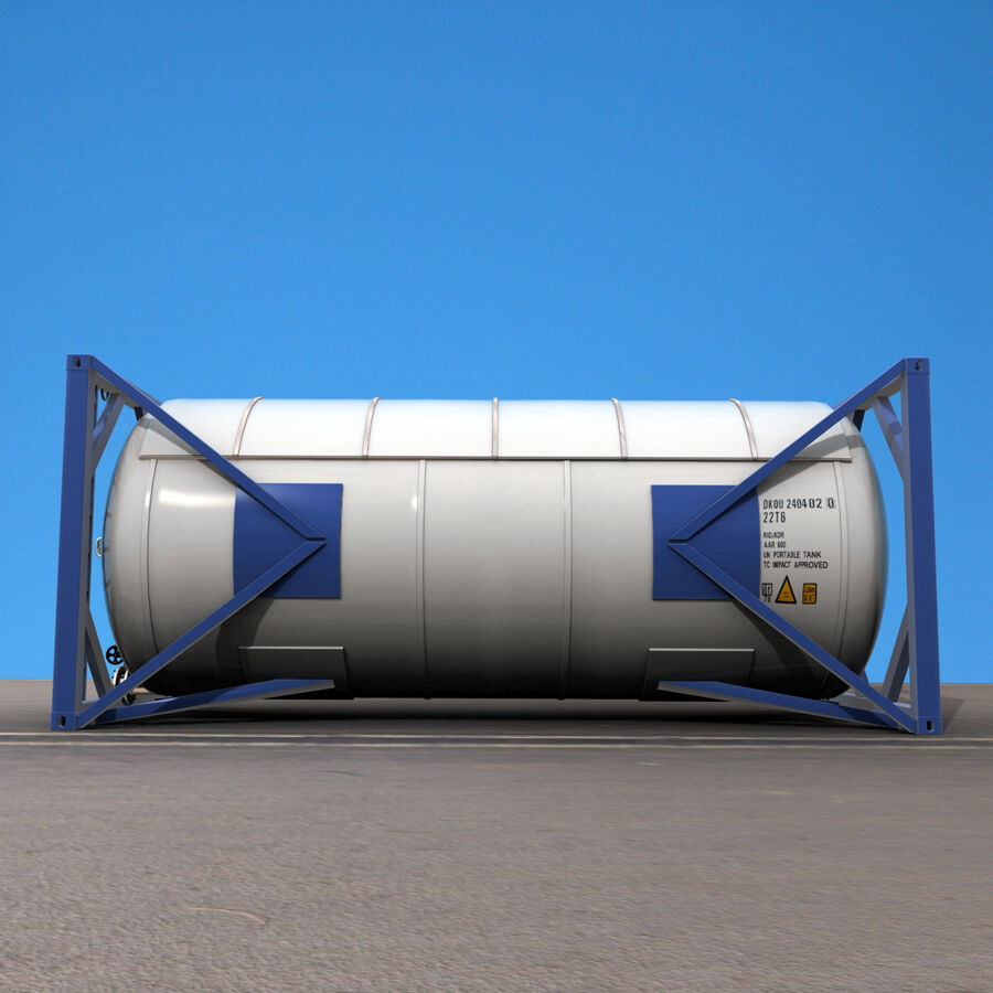 Collezione Mega Container royalty-free 3d model - Preview no. 58