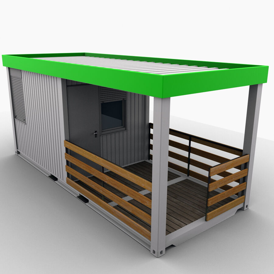 Collezione Mega Container royalty-free 3d model - Preview no. 85