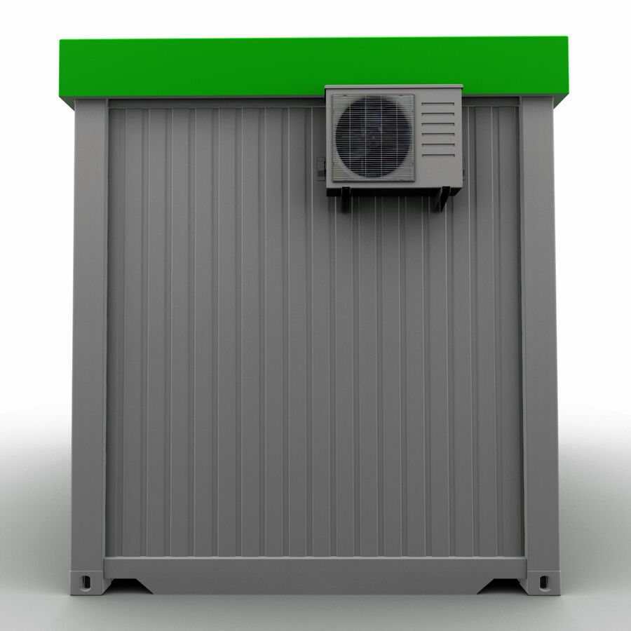 Collezione Mega Container royalty-free 3d model - Preview no. 87