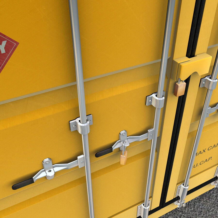 Collezione Mega Container royalty-free 3d model - Preview no. 23