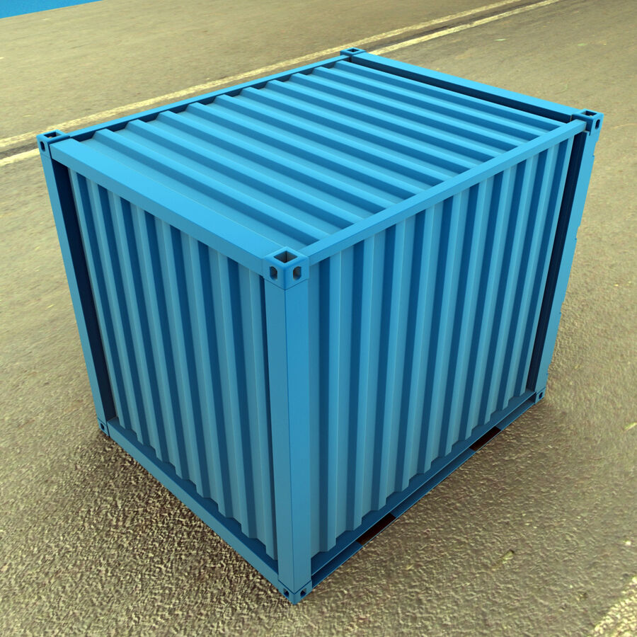 Collezione Mega Container royalty-free 3d model - Preview no. 5