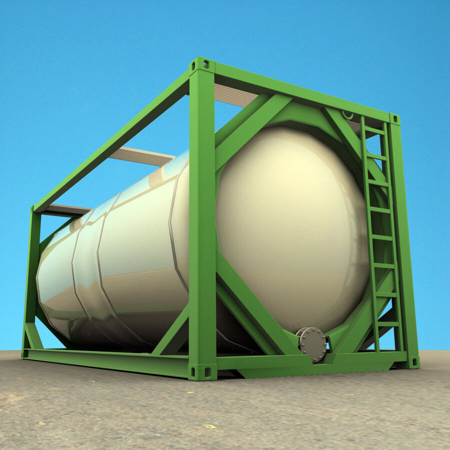 Collezione Mega Container royalty-free 3d model - Preview no. 48