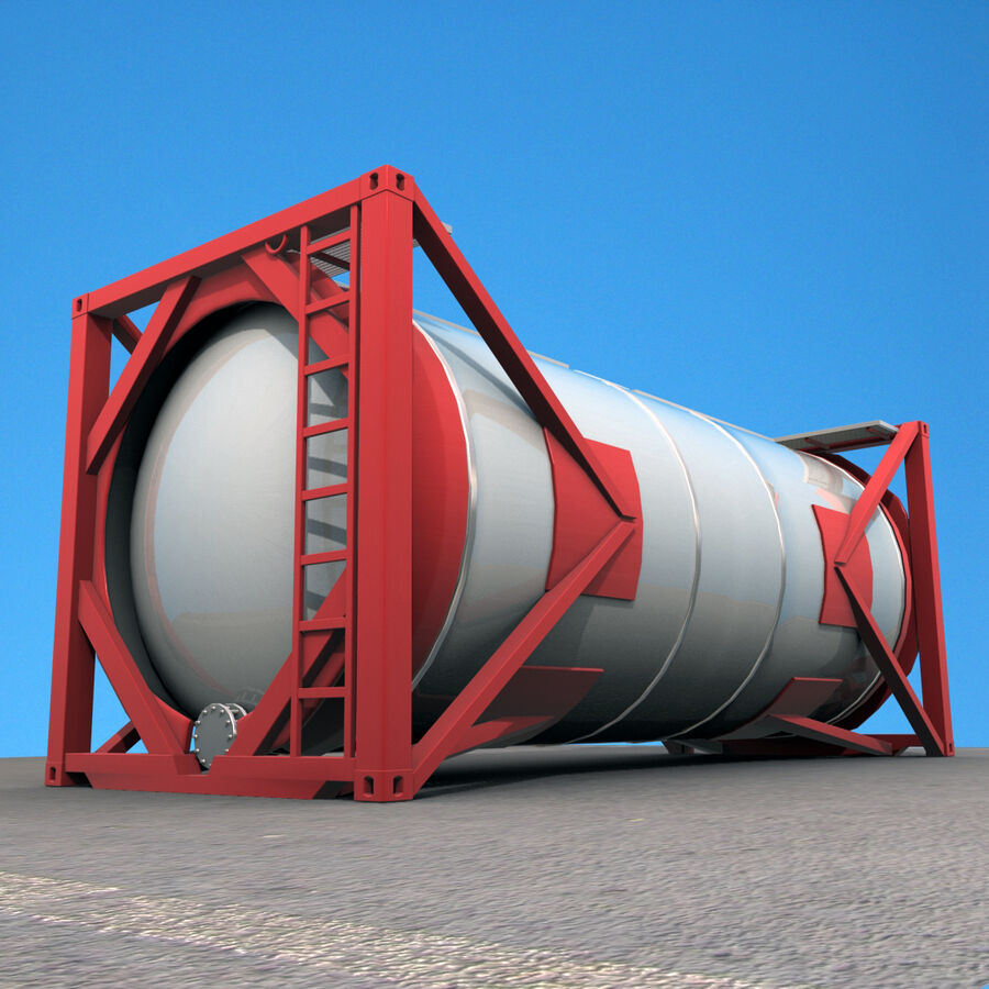 Collezione Mega Container royalty-free 3d model - Preview no. 42
