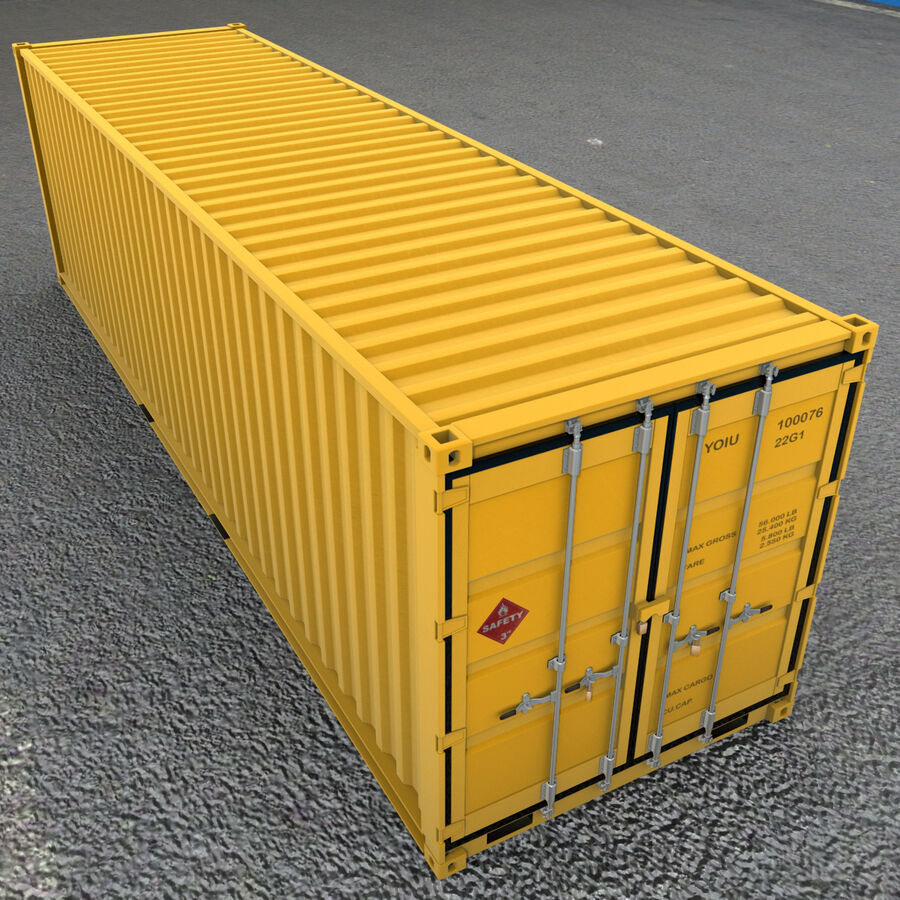 Collezione Mega Container royalty-free 3d model - Preview no. 19