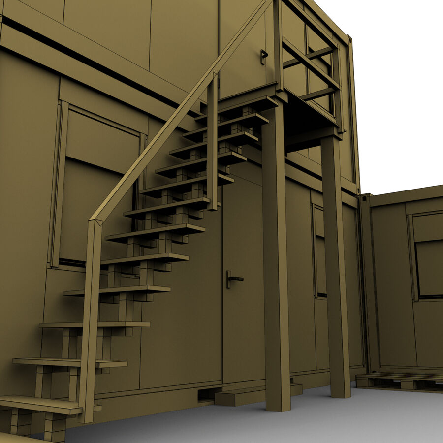Collezione Mega Container royalty-free 3d model - Preview no. 100