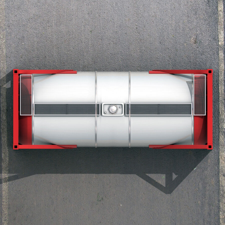 Collezione Mega Container royalty-free 3d model - Preview no. 43