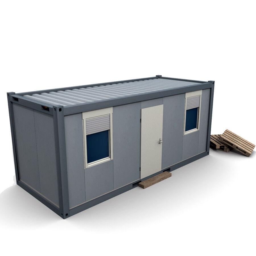 Collezione Mega Container royalty-free 3d model - Preview no. 95