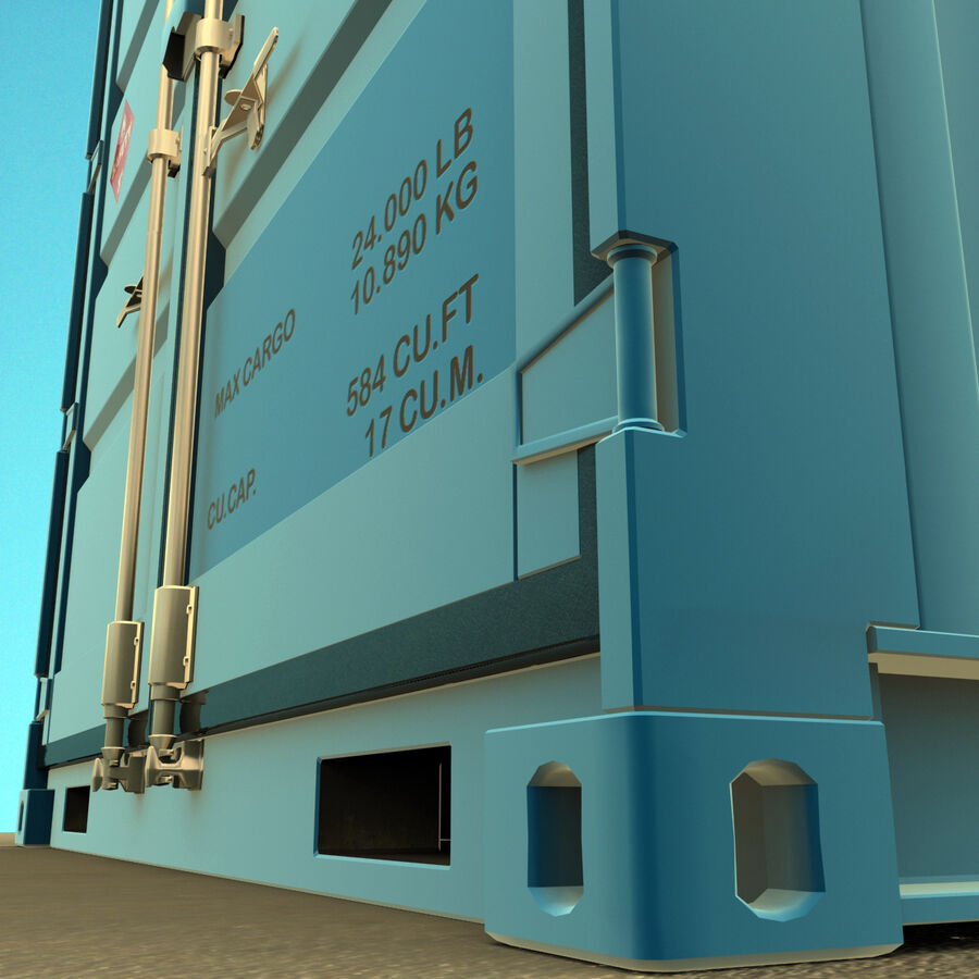 Collezione Mega Container royalty-free 3d model - Preview no. 7