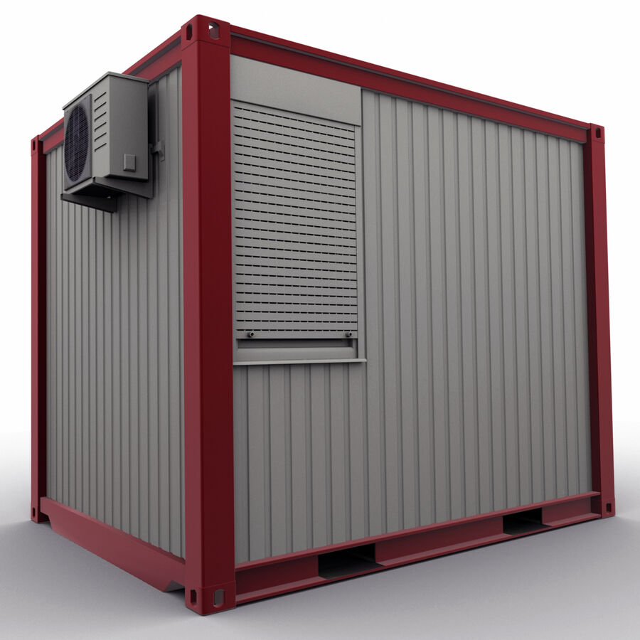 Collezione Mega Container royalty-free 3d model - Preview no. 71