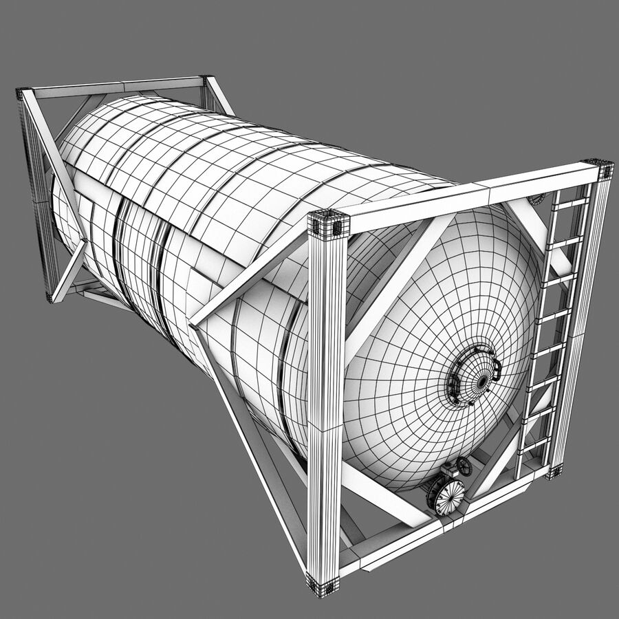 Collezione Mega Container royalty-free 3d model - Preview no. 60