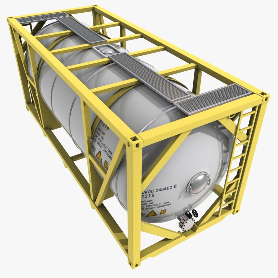 Collezione Mega Container royalty-free 3d model - Preview no. 30