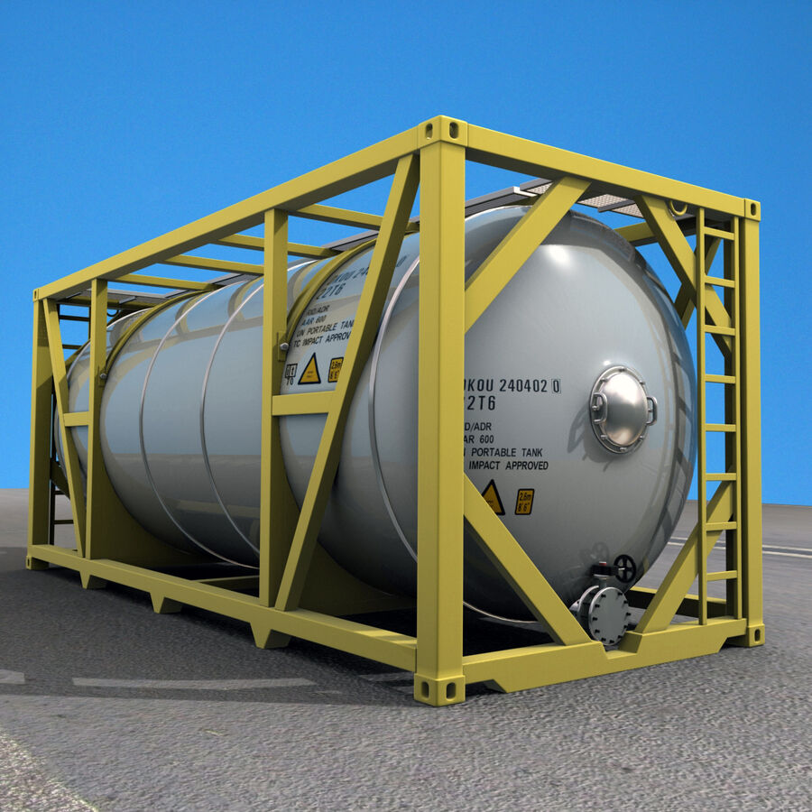 Collezione Mega Container royalty-free 3d model - Preview no. 33
