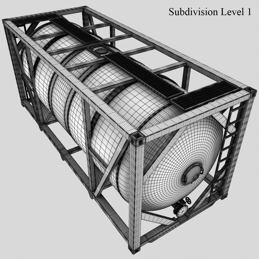 Collezione Mega Container royalty-free 3d model - Preview no. 37