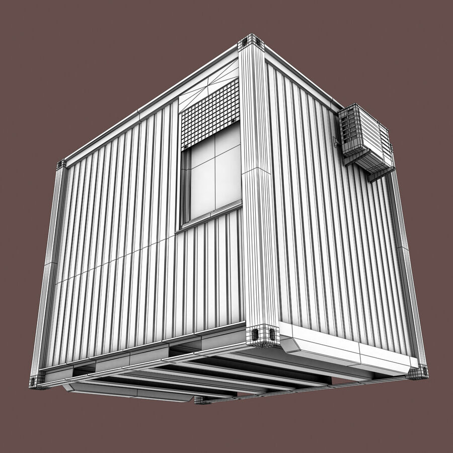 Collezione Mega Container royalty-free 3d model - Preview no. 76