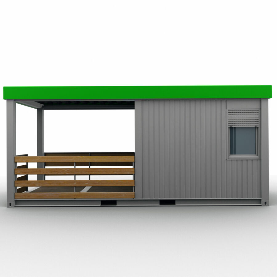 Collezione Mega Container royalty-free 3d model - Preview no. 89