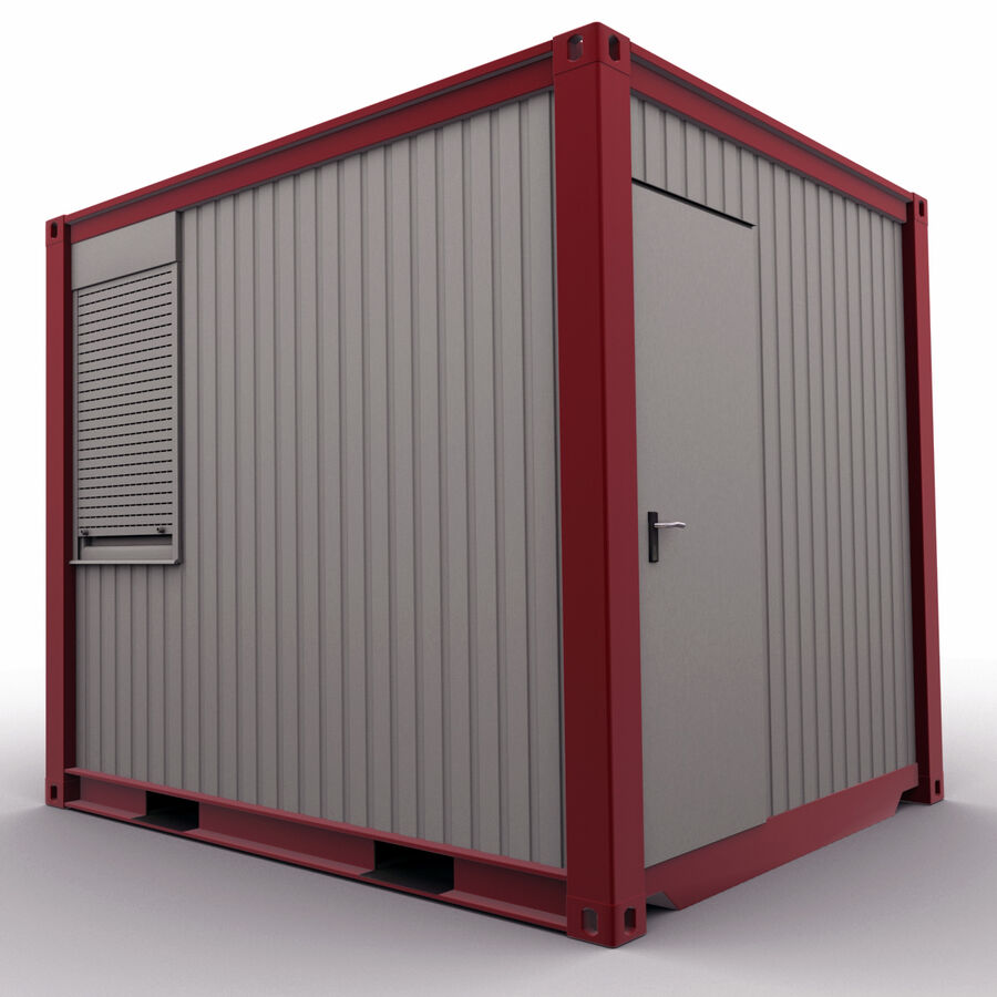 Collezione Mega Container royalty-free 3d model - Preview no. 72