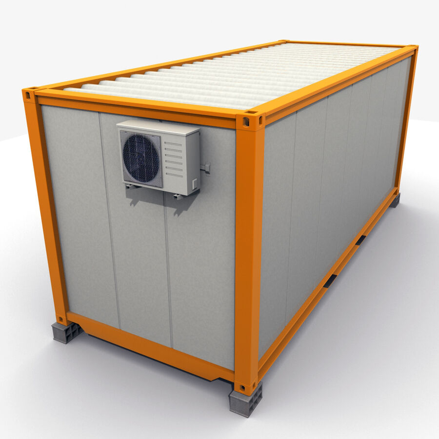 Collezione Mega Container royalty-free 3d model - Preview no. 81
