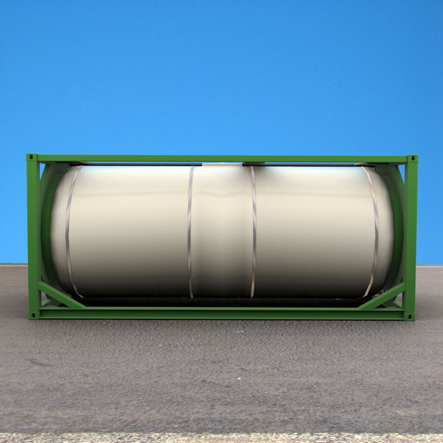 Collezione Mega Container royalty-free 3d model - Preview no. 49