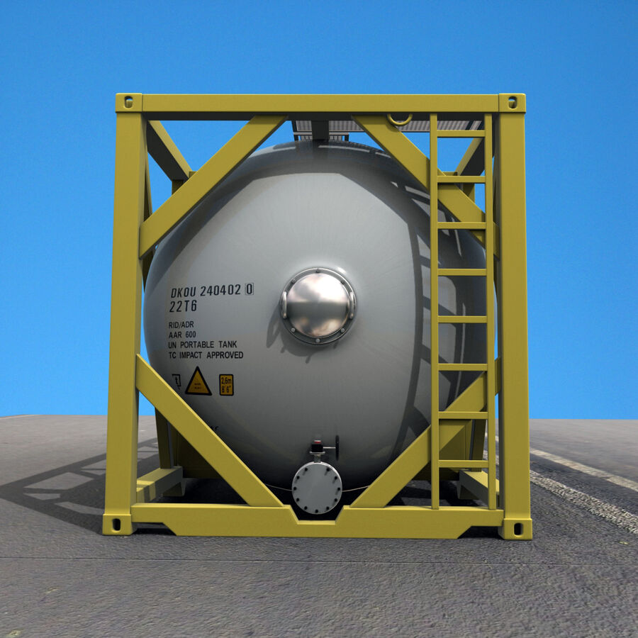 Collezione Mega Container royalty-free 3d model - Preview no. 34