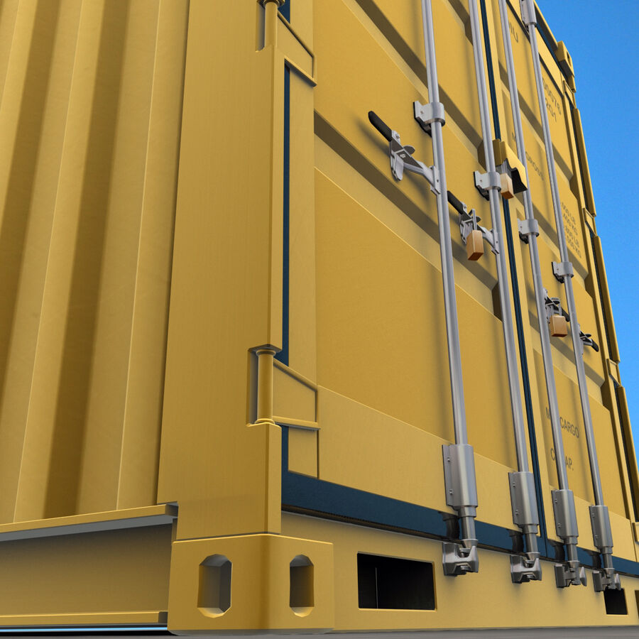 Collezione Mega Container royalty-free 3d model - Preview no. 24