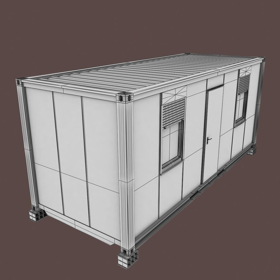 Collezione Mega Container royalty-free 3d model - Preview no. 83