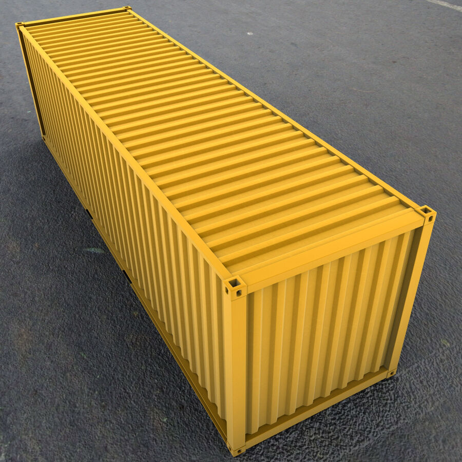 Collezione Mega Container royalty-free 3d model - Preview no. 22