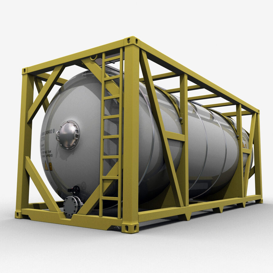 Collezione Mega Container royalty-free 3d model - Preview no. 31