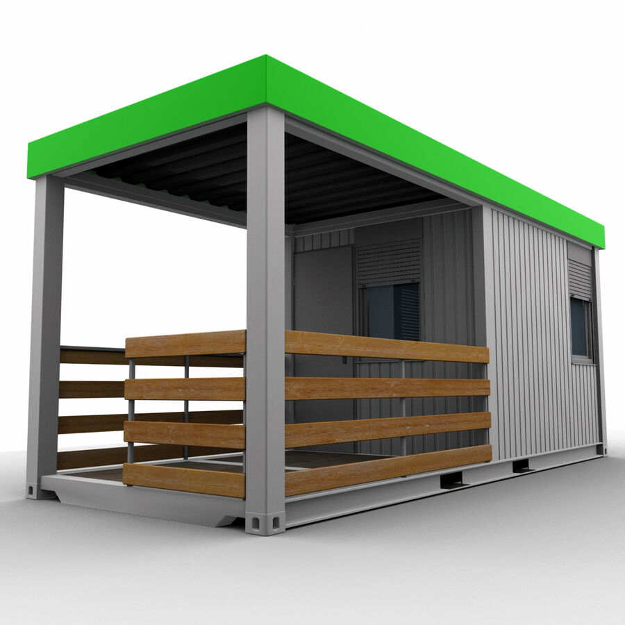 Collezione Mega Container royalty-free 3d model - Preview no. 88