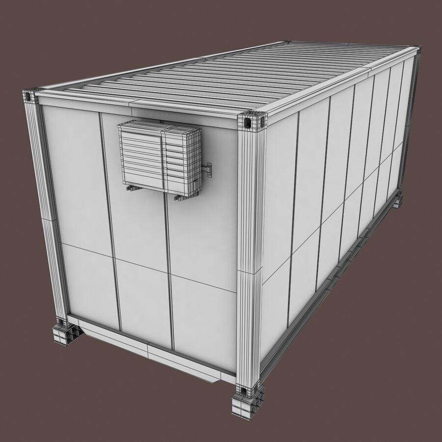 Collezione Mega Container royalty-free 3d model - Preview no. 84