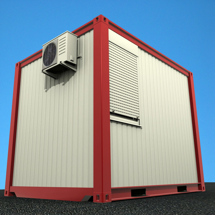 Collezione Mega Container royalty-free 3d model - Preview no. 74