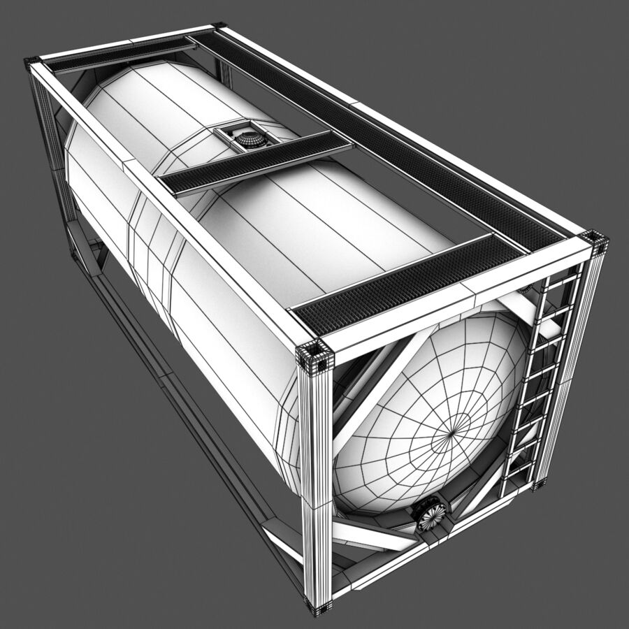 Collezione Mega Container royalty-free 3d model - Preview no. 52