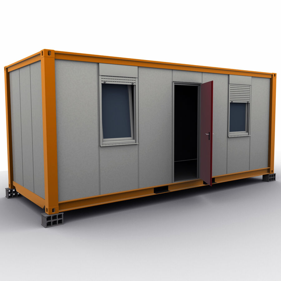Collezione Mega Container royalty-free 3d model - Preview no. 82