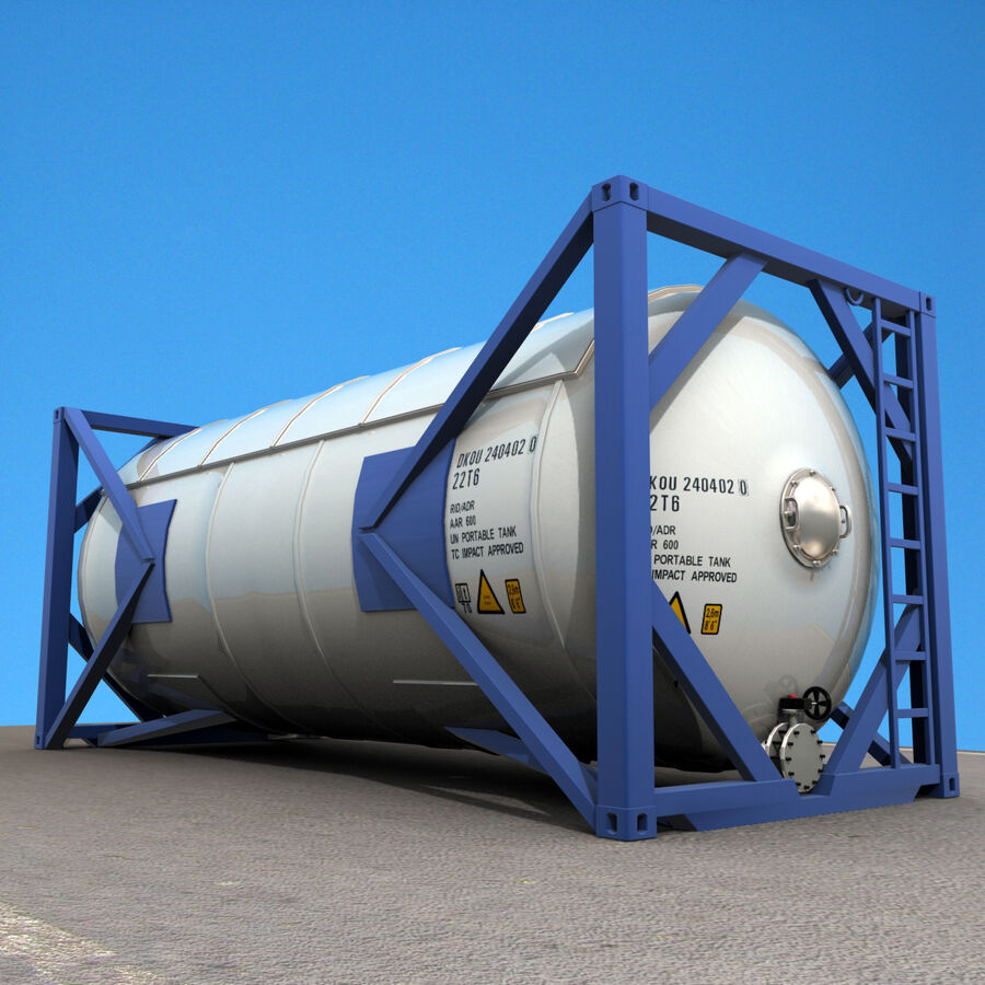 Collezione Mega Container royalty-free 3d model - Preview no. 57