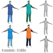 X-Ray protection LODs 3d model