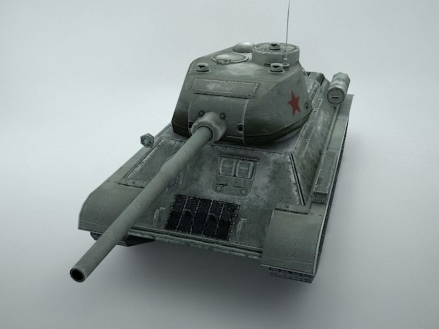 t-34 royalty-free 3d model - Preview no. 5