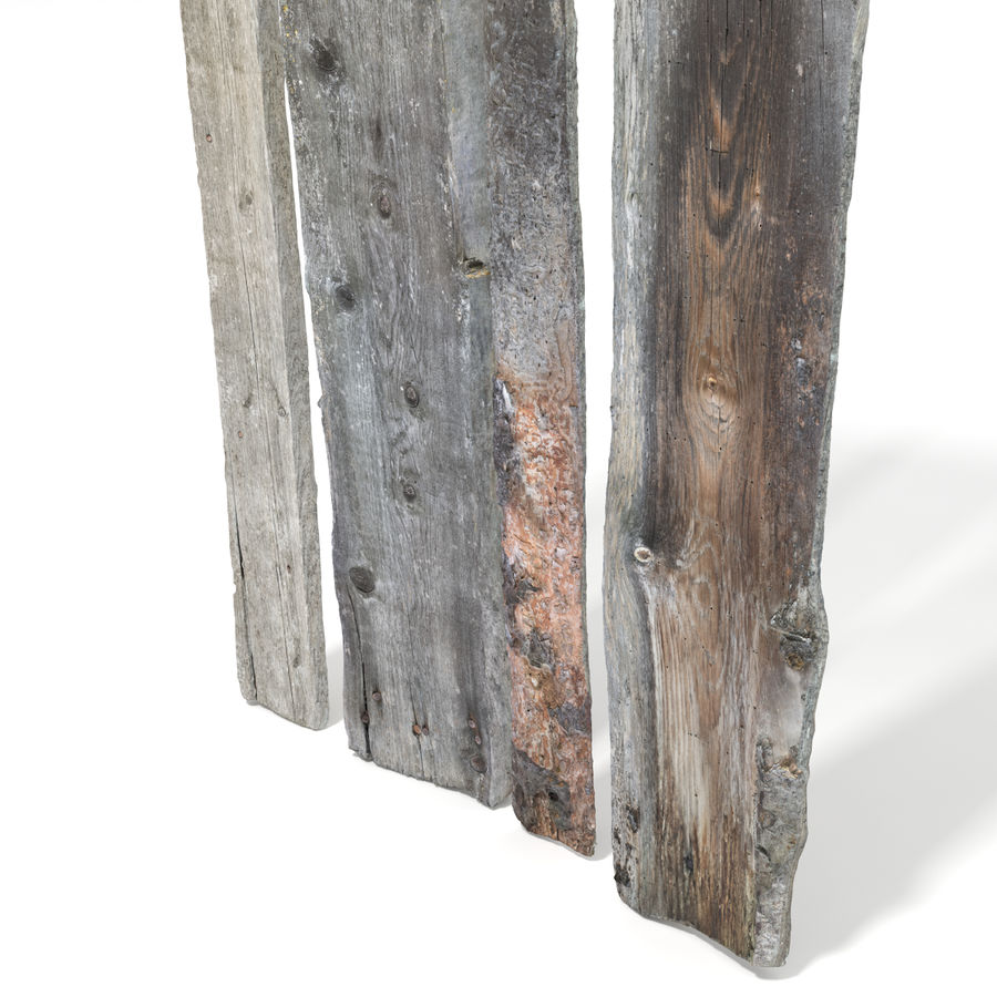 Weathered Planks royalty-free 3d model - Preview no. 9