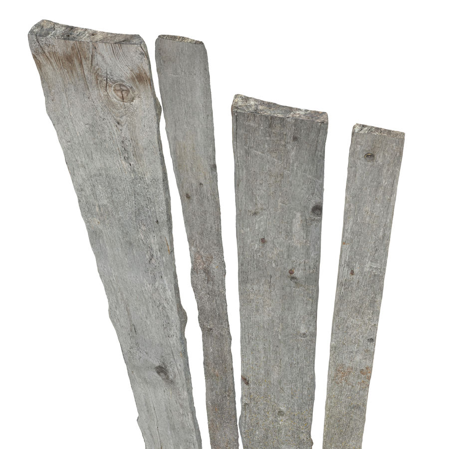 Weathered Planks royalty-free 3d model - Preview no. 7