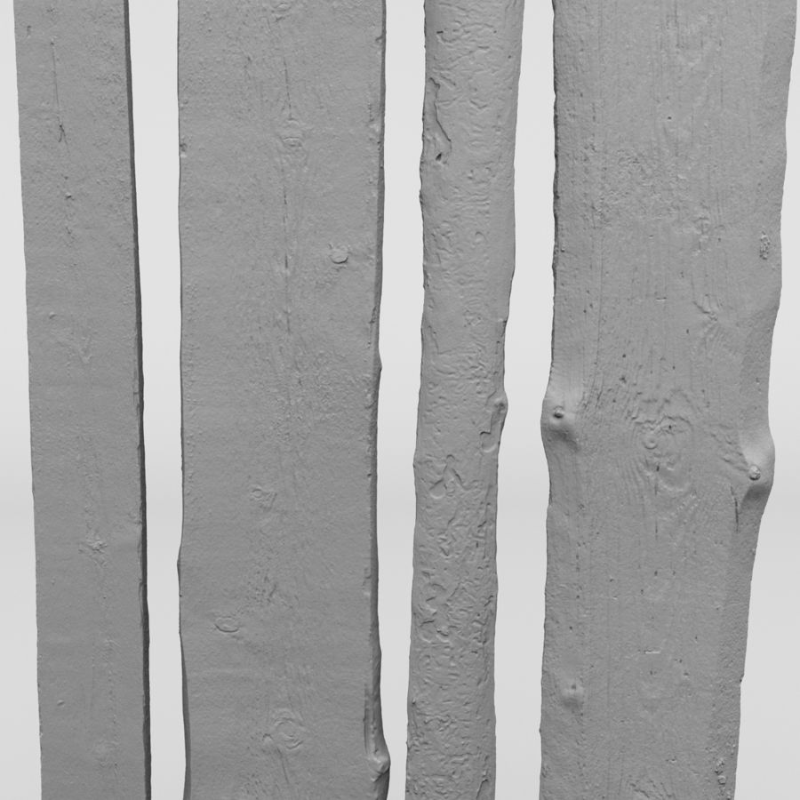 Weathered Planks royalty-free 3d model - Preview no. 18