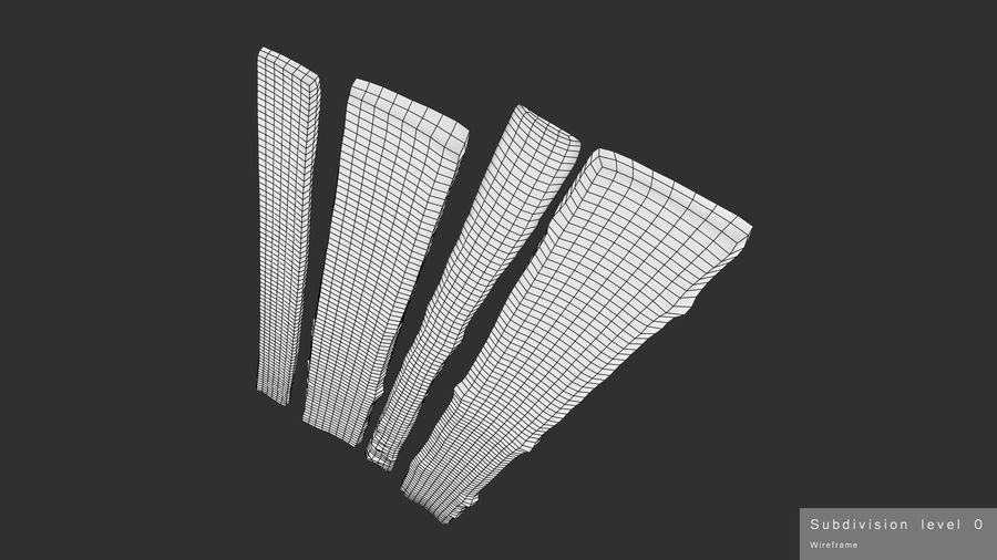 風化した板 royalty-free 3d model - Preview no. 15